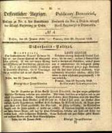 Oeffentlicher Anzeiger. 1840.01.28 Nro.4