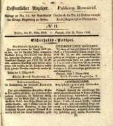 Oeffentlicher Anzeiger. 1840.03.17 Nro.11