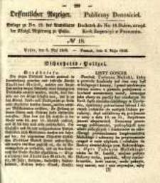 Oeffentlicher Anzeiger. 1840.05.05 Nro.18