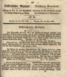 Oeffentlicher Anzeiger. 1840.05.19 Nro.20