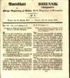 Amtsblatt der Königlichen Regierung zu Posen. 1840.02.25 Nro.8
