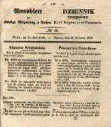 Amtsblatt der Königlichen Regierung zu Posen. 1840.04.21 Nro.16