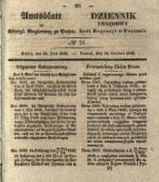 Amtsblatt der Königlichen Regierung zu Posen. 1840.06.16 Nro.24