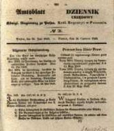 Amtsblatt der Königlichen Regierung zu Posen. 1840.06.30 Nro.26