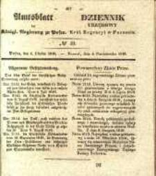 Amtsblatt der Königlichen Regierung zu Posen. 1840.10.06 Nro.40