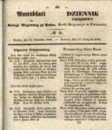 Amtsblatt der Königlichen Regierung zu Posen. 1840.11.17 Nro.46