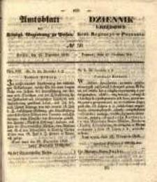 Amtsblatt der Königlichen Regierung zu Posen. 1840.12.15 Nro.50