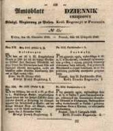 Amtsblatt der Königlichen Regierung zu Posen. 1840.11110 Nro.45