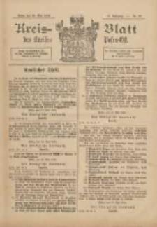 Kreis-Blatt des Kreises Posen-Ost 1898.05.28 Jg.11 Nr22