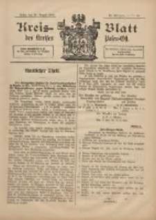 Kreis-Blatt des Kreises Posen-Ost 1898.08.20 Jg.11 Nr35