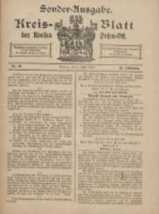 Kreis-Blatt des Kreises Posen-Ost 1918.05.08 Jg.30 Nr20