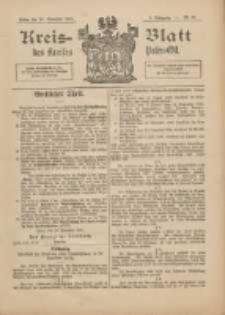 Kreis-Blatt des Kreises Posen-Ost 1897.11.27 Jg.10 Nr48