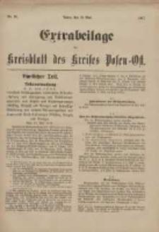Kreis-Blatt des Kreises Posen-Ost 1917.05.19 Jg.29 Nr24 Extra Beilage