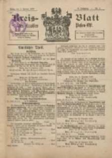 Kreis-Blatt des Kreises Posen-Ost 1897.01.02 Jg.10 Nr1