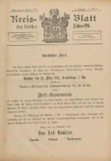 Kreis-Blatt des Kreises Posen-Ost 1897.02.27 Jg.10 Nr9