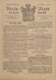 Kreis-Blatt des Kreises Posen-Ost 1897.04.10 Jg.10 Nr15
