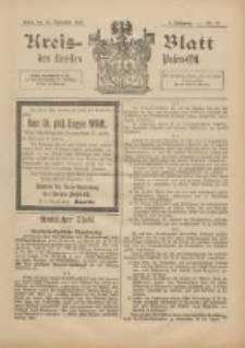 Kreis-Blatt des Kreises Posen-Ost 1897.09.18 Jg.10 Nr38