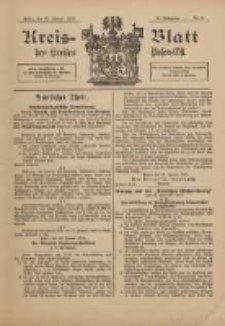 Kreis-Blatt des Kreises Posen-Ost 1898.01.29 Jg.11 Nr5