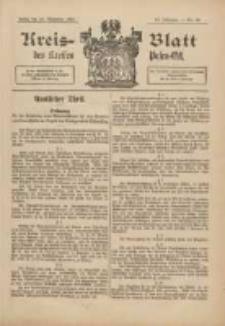 Kreis-Blatt des Kreises Posen-Ost 1898.11.26 Jg.11 Nr49