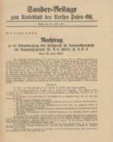 Kreis-Blatt des Kreises Posen-Ost 1917.07.26 Jg.29 Sonder Beilage