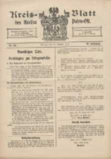 Kreis-Blatt des Kreises Posen-Ost 1917.10.13 Jg.29 Nr54