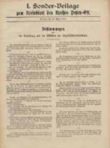 Kreis-Blatt des Kreises Posen-Ost 1918.03.23 Sonder Beilage