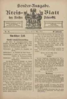 Kreis-Blatt des Kreises Posen-Ost 1918.03.27 Jg.30 Nr13 Sonder Ausgabe