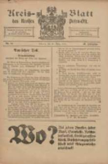Kreis-Blatt des Kreises Posen-Ost 1918.03.30 Jg.30 Nr14