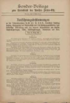 Kreis-Blatt des Kreises Posen-Ost 1918.04.06 Jg.30 Sonder Beilage
