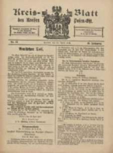 Kreis-Blatt des Kreises Posen-Ost 1918.04.20 Jg.30 Nr17
