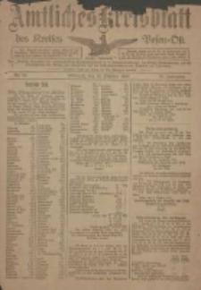 Kreis-Blatt des Kreises Posen-Ost 1918.10.16 Jg.30 Nr60
