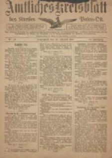 Kreis-Blatt des Kreises Posen-Ost 1918.10.26 Jg.30 Nr63