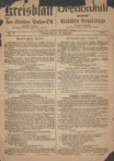 Kreis-Blatt des Kreises Posen-Ost 1918.12.21 Jg.30 Nr79