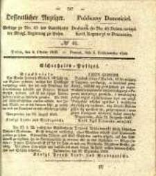 Oeffentlicher Anzeiger. 1840.10.06 Nro.40