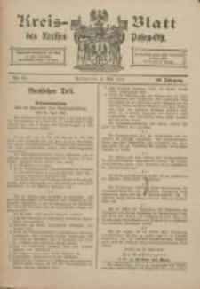 Kreis-Blatt des Kreises Posen-Ost 1918.05.11 Jg.30 Nr21
