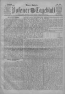 Posener Tageblatt 1904.12.11 Jg.43 Nr581