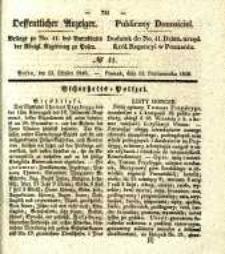 Oeffentlicher Anzeiger . 1840.10.13 Nro.41