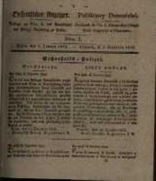 Oeffentlicher Anzeiger. 1833.01.01 Nr 1