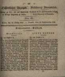 Oeffentlicher Anzeiger. 1833.10.15 Nr 42