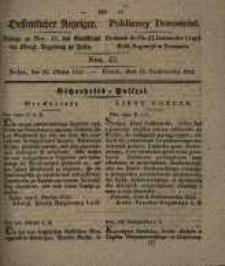 Oeffentlicher Anzeiger. 1833.10.22 Nr 43