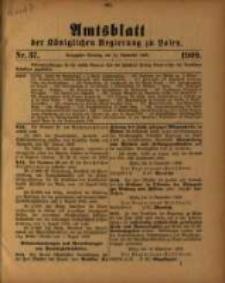 Amtsblatt der Königlichen Regierung zu Posen. 1909.09.14 Nro.37