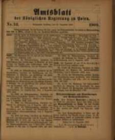 Amtsblatt der Königlichen Regierung zu Posen. 1909.12.21 Nro.51