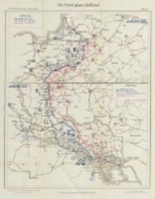 Die Operationen des Jahres 1915: die Ereignisse im Winter und Frühjahr: mit vierzig Karten und Skizzen Bd.7 Die Front gegen Russland Karte 18