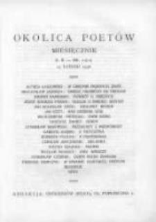 Okolica Poetów 1936.02.15 R.2 Nr2(11)