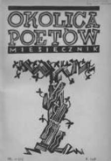 Okolica Poetów 1936.11.15 R.2 T.3 Z.2 Nr11/20