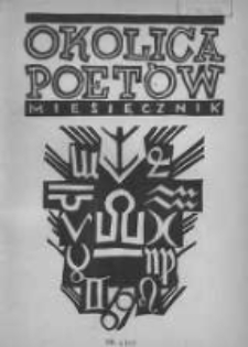 Okolica Poetów 1937.04.15 R.3 T.3 Z.7 Nr4(25)