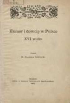 Humor i dowcip w Polsce XVI wieku