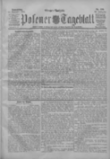 Posener Tageblatt 1904.11.10 Jg.43 Nr529