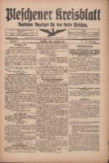 Pleschener Kreisblatt 1918.01.23 Jg.66 Nr7