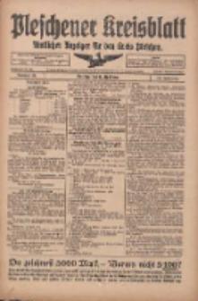 Pleschener Kreisblatt: Amtliches Anzeiger für den Kreis Pleschen 1918.04.17 Jg.66 Nr31